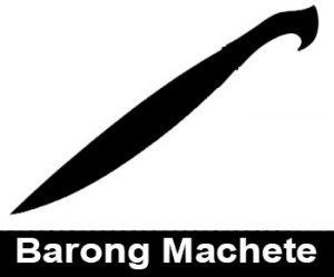 Barong Machete