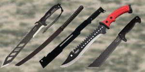 best machete for self defence