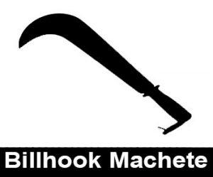 Billhook Machete