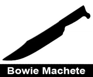 Bowie Machete