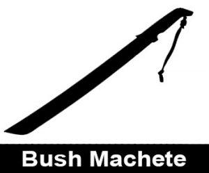 Bush Machete